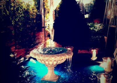 Copertura Fontana con Linea Elegance Notte