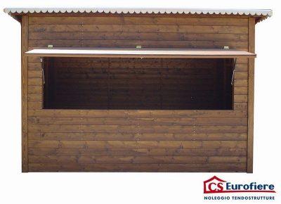 Casetta prefabbricata in legno media