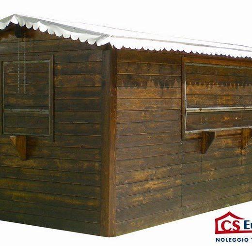 Casetta prefabbricata in legno grande