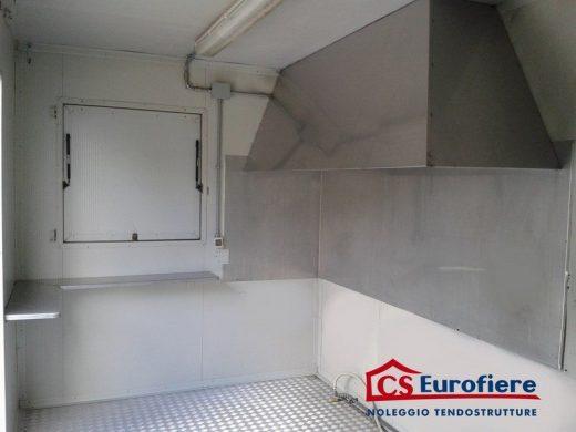 Noleggio di un Container prefabbricato adibito a cucina