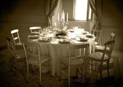 Allestimento Cerimonia Elegance in Villa