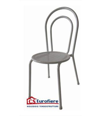 cseurofiere sedia vienna ferro bianca