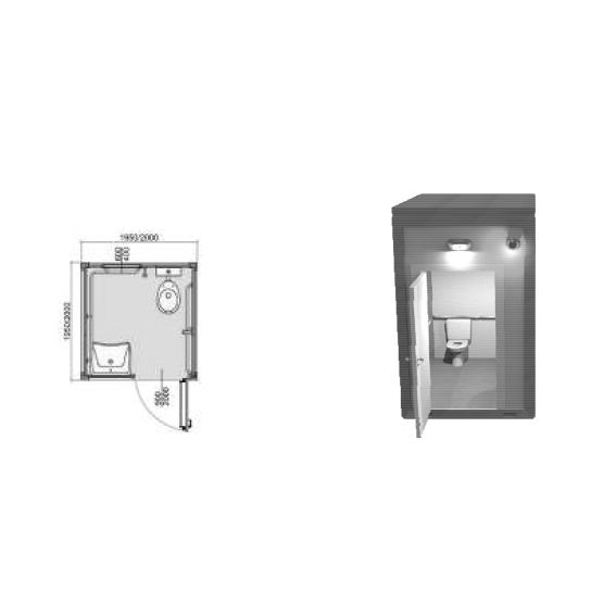Bagni Modulari Prefabbricati Monoblocco – C.S. Eurofiere